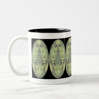 Animal Abstracts Pig Reflections Coffee Mugs