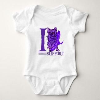Animal Abuse Awareness Baby Bodysuit