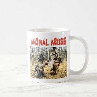 ANIMAL ABUSE COFFEE MUG