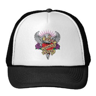 Animal Abuse Dagger Trucker Hat