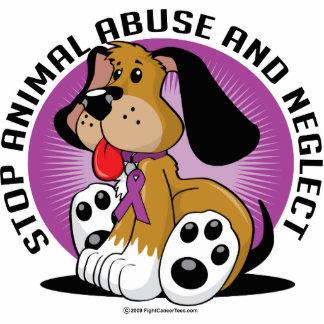 Animal Abuse Dog Statuette