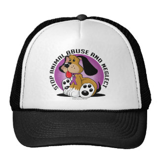 Animal Abuse Dog Trucker Hat