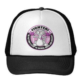 Animal Abuse Fighter Cat Trucker Hat