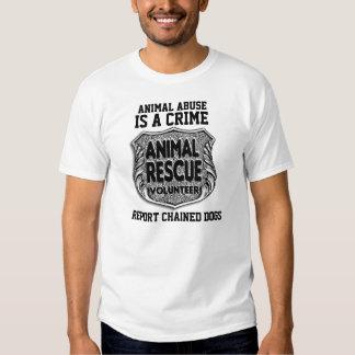 Animal Abuse Is A Crime T Shirt