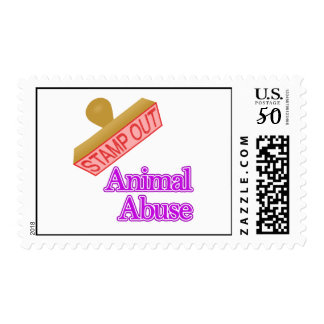 Animal Abuse Postage