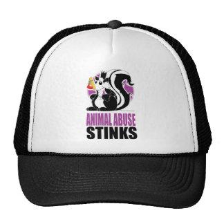 Animal Abuse Stinks Trucker Hat