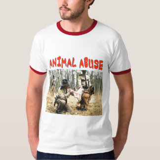 ANIMAL ABUSE T-SHIRT
