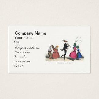 Animal acting human – Grandville Metamorphoses Business Card