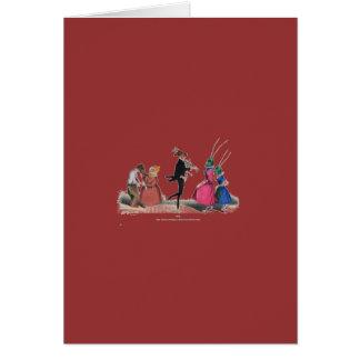 Animal acting human – Grandville Metamorphoses Card