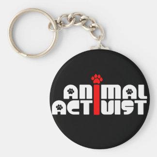 Animal Activist Keychain
