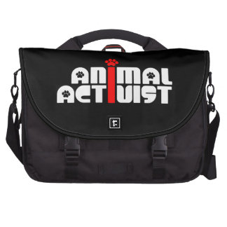 Animal Activist Laptop Bag