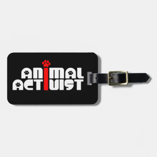 Animal Activist Tags For Bags