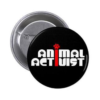 Animal Activist Pinback Button
