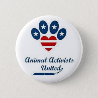 Animal Activists Button