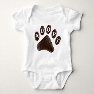 Animal Adoption Baby Bodysuit