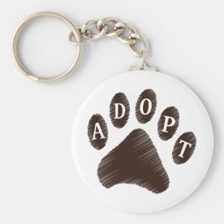 Animal Adoption Keychain