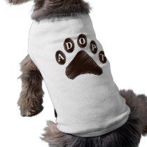Animal Adoption Shirt