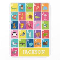 Animal Alphabet | Alphabet ABC Blanket
