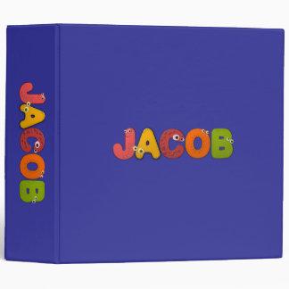animal alphabet vinyl binder