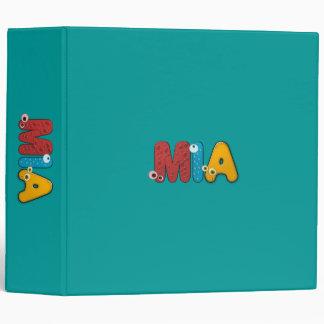 animal alphabet 3 ring binder
