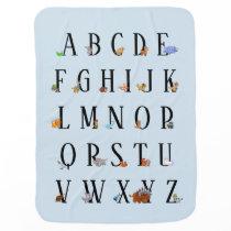 Animal Alphabet Blanket