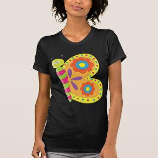 Animal Alphabet Butterfly T Shirt