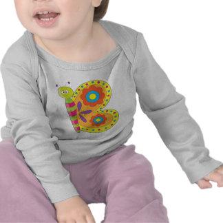 Animal Alphabet Butterfly T-shirt