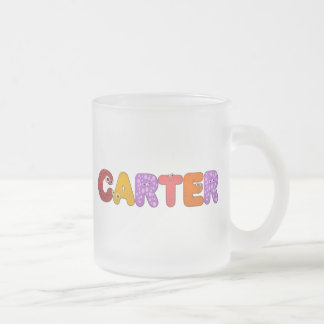animal alphabet Carter Mug