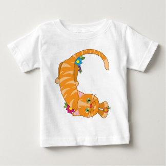 Animal Alphabet Cat Baby T-Shirt