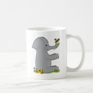 Animal Alphabet Elephant Coffee Mug