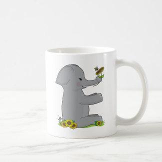 Animal Alphabet Elephant Coffee Mugs