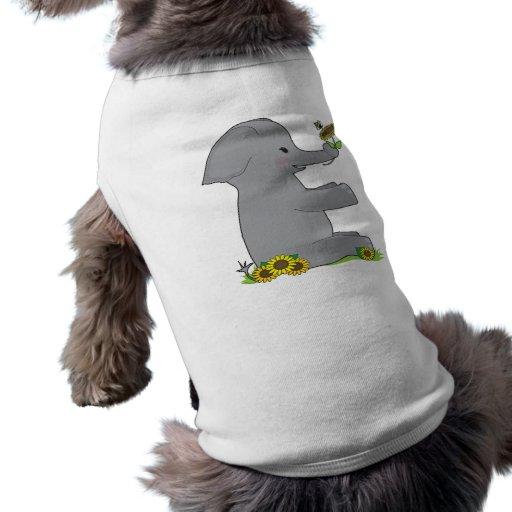 Animal Alphabet Elephant Pet Clothing