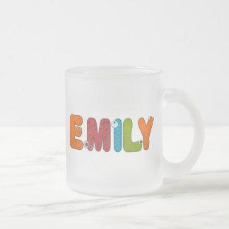 animal alphabet Emily Coffee Mug
