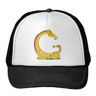 animal alphabet G Mesh Hat