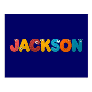 animal alphabet Jackson Post Card