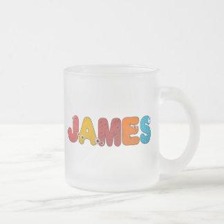 animal alphabet James Mug