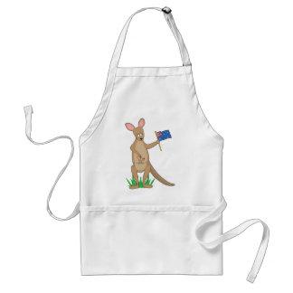 Animal Alphabet Kangaroo Apron