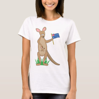 Animal Alphabet Kangaroo T-Shirt