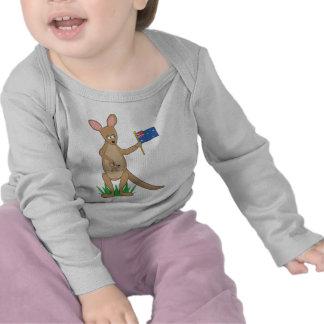 Animal Alphabet Kangaroo T Shirts