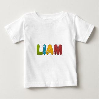 animal alphabet Liam Baby T-Shirt