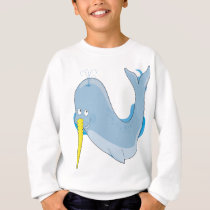 Animal Alphabet Narwhal Sweatshirt