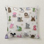 Animal Alphabet Pillow