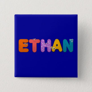 animal alphabet pinback button