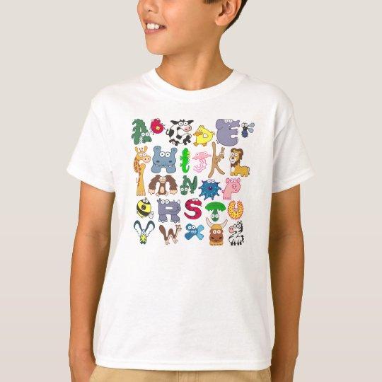 Animal Alphabet T Shirt