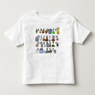 Animal Alphabet Toddler T-shirt