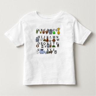 Animal Alphabet Toddler T-shirt