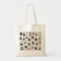 Animal Alphabet Tote Bag