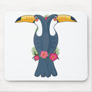 Animal Alphabet Toucan Mouse Pad