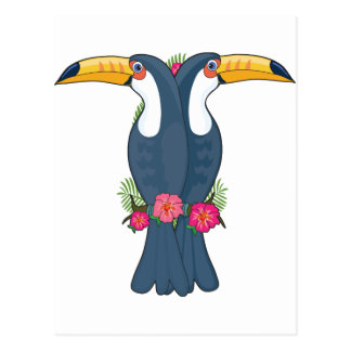 Animal Alphabet Toucan Postcard