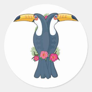 Animal Alphabet Toucan Stickers